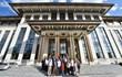 Cumhurbaşkanlığı Sarayı'nda 2.5 saat süren basın turu