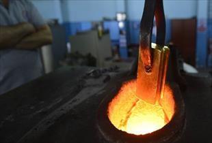 Darphane nin altın üretimi tam gaz