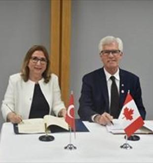 Türkiye ile Kanada arasında JETCO mutabakat zaptı imzalandı