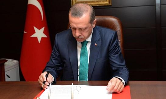 Cumhurbaşkanı Erdoğan dan kanun onayı