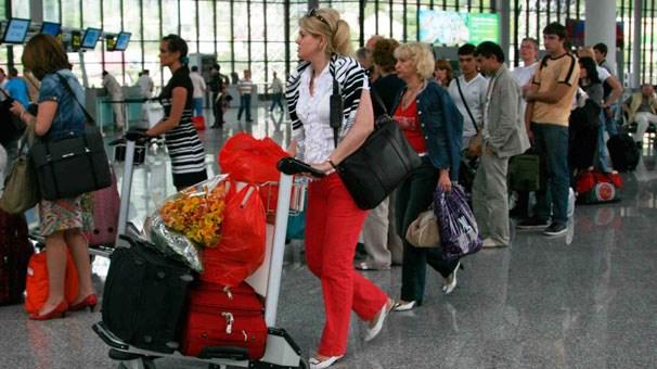 Rus turistlerden Türkiye ye büyük talep