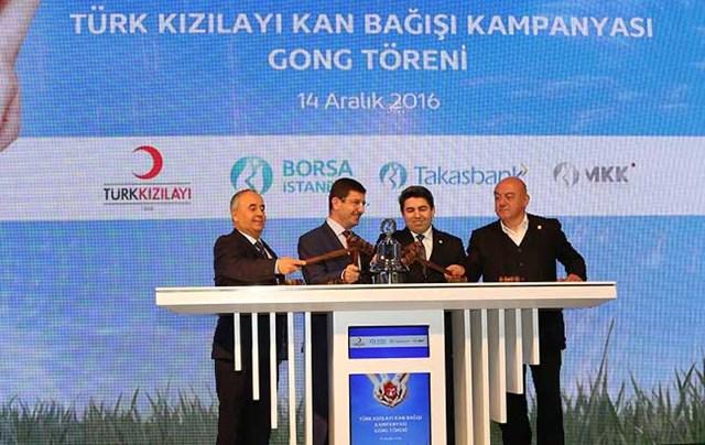 Borsa İstanbul'da Gong  Hayat  İçin Çaldı