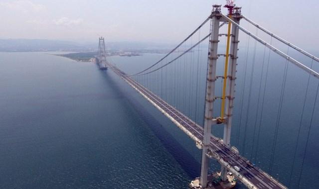 Osmangazi Köprüsü ne 3.5 milyar dolarlık sigorta
