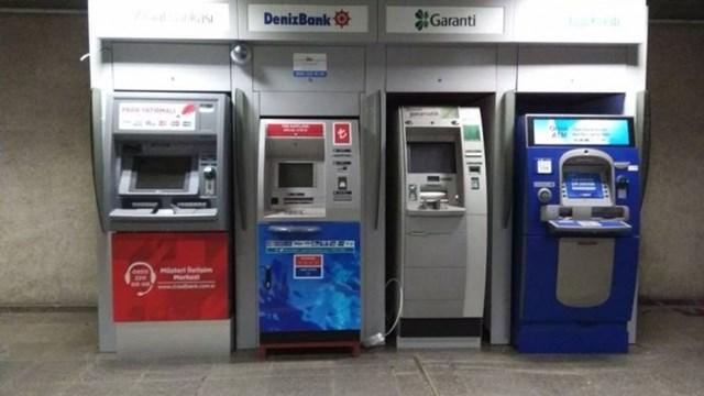Metrolara ATM ler tekrar yerleştirildi