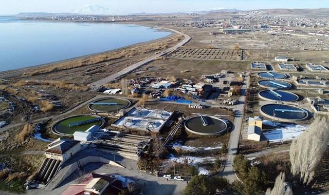 Van Gölü için 100 milyon liralık arıtma tesisi