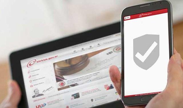 Özel güvenlik işlemleri e-Devlet'ten yapılacak…