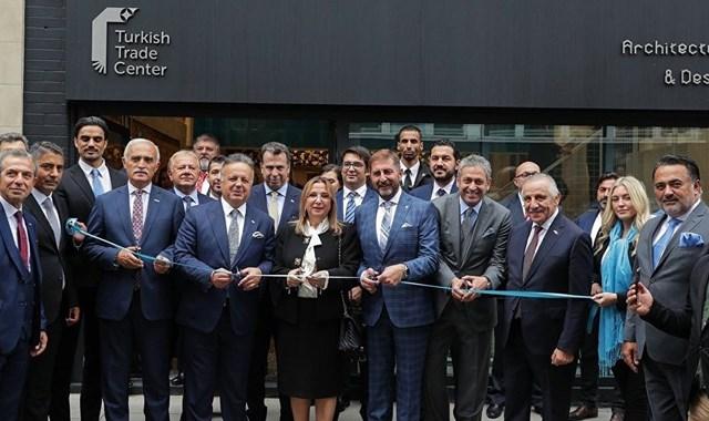Londra da Türk Ticaret Merkezi açıldı