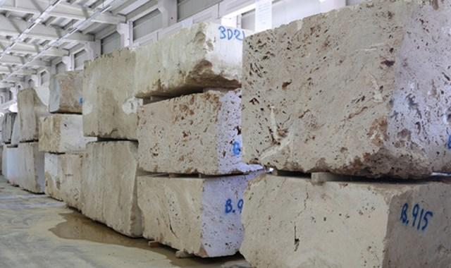 Bayburt ta işlenen taş 4 kıtaya ihraç ediliyor