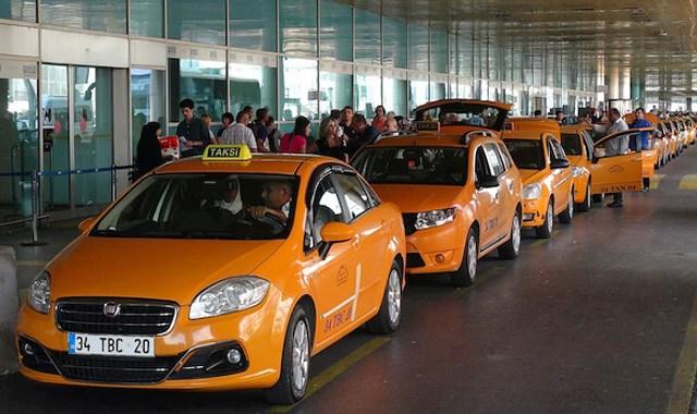 Bin taksi yeni havalimanına taşınıyor