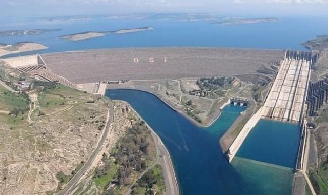 Atatürk Barajı nda doluluk oranı yüzde 40 arttı