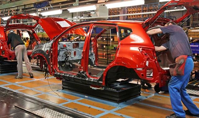 Otomotiv üretimi ocakta arttı