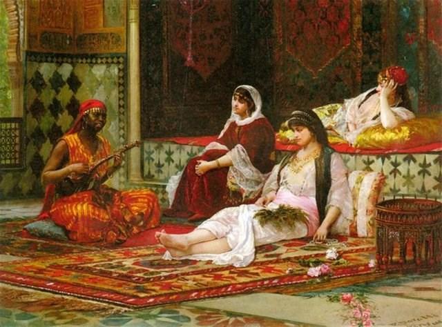 Султан занимается сексам в гареме