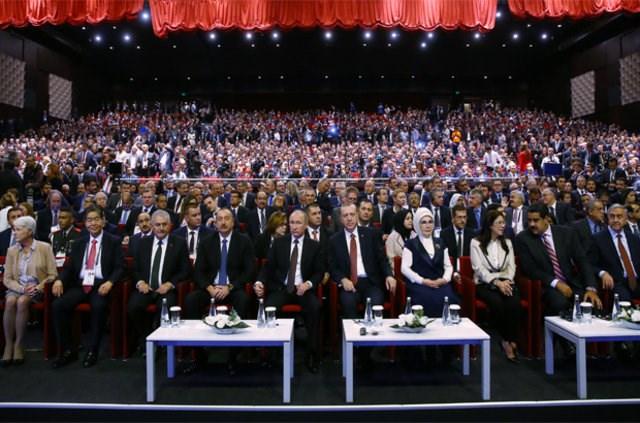 Dünya Enerji Kongresi'nden kareler
