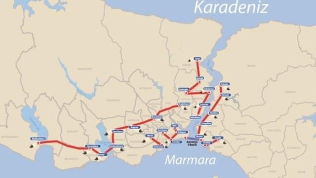 İstanbul'un tünel projelerinin detayları ortaya çıktı