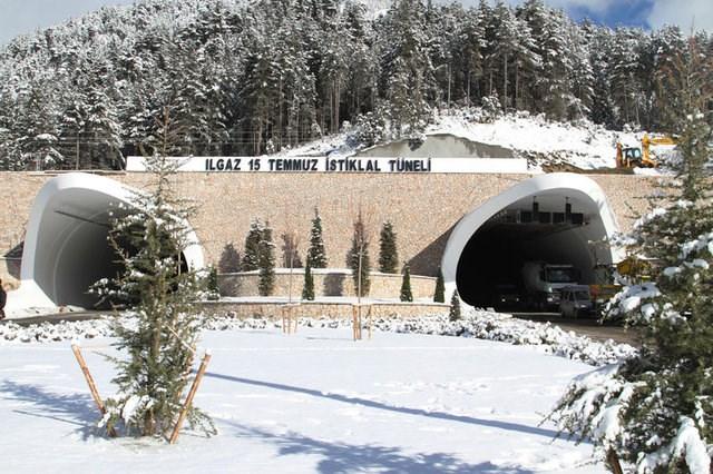Ilgaz 15 Temmuz İstiklal Tüneli açılıyor
