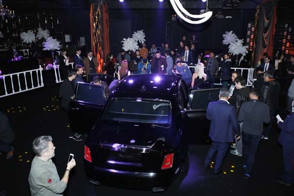 6 buçuk milyon liralık yeni Rolls-Royce Phantom Türkiye'de ilk kez sergilen