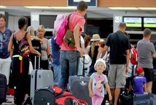 Antalya da Rus turist sayısında rekor kırıldı