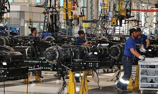 Almanya da fabrika siparişleri azaldı