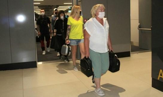 Antalya da  Rus turist  sevinci