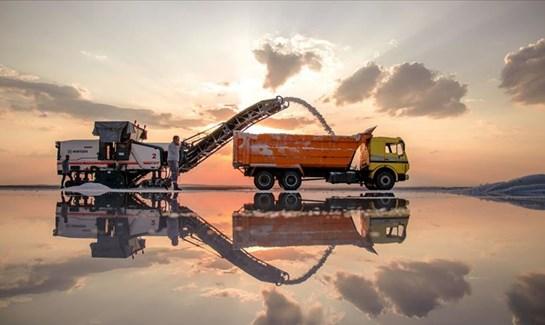 Konya dan 60 ülkeye tuz ihracatı