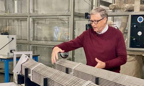 Bill Gates ten nükleer hamle