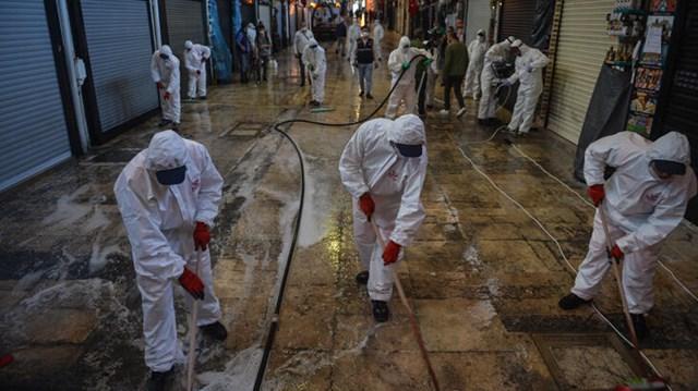 1 Haziran da açılacak Kapalıçarşı dezenfekte edildi