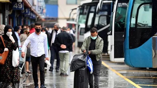 Seyahat yasağının kalkmasının ardından 2 milyon kişi şehir değiştirdi