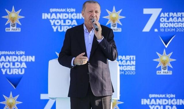 Cumhurbaşkanı Erdoğan Şırnak'ta toplu açılışa katıldı