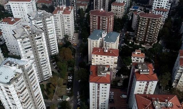 Konut metrekare ortalama birim fiyatı İstanbul da 5 bin 767 lira oldu