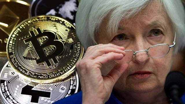 ABD Hazine Bakanı Yellen dan  Bitcoin  uyarısı