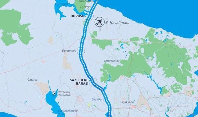 Kanal İstanbul un ilk köprüsünün detayları belli oldu
