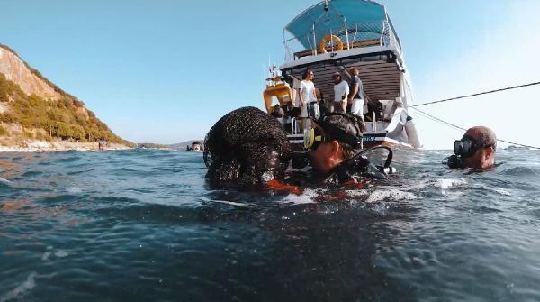 Bakan Pakdemirli Marmara Denizi nden hayalet ağ çıkardı