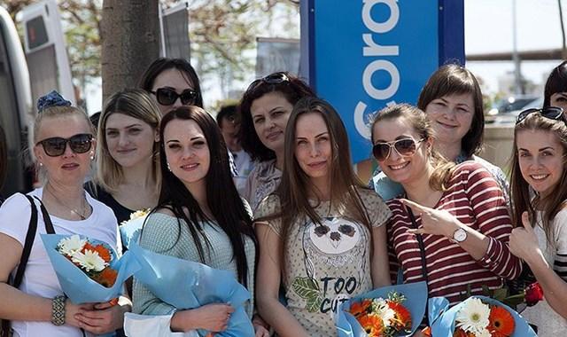 Rus turistin tercihi yine Türkiye