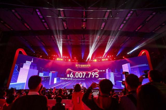 Alibaba Bekârlar Günü'nde yeni rekorunu kırdı